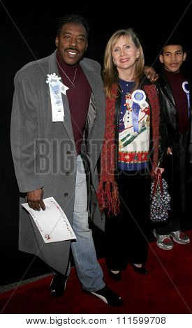 HOLLYWOOD, CALIFORNIA. November 27, 2005. Ernie Hudson attends the 2005 Hollywood Christmas Parade at the Hollywood Roosevelt Hotel in Hollywood, California United States.