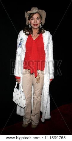 11/27/2005 - Hollywood - Lesley-Anne Down attends the 2005 Hollywood Christmas Parade at the Hollywood Roosevelt Hotel in Hollywood, California, United States.