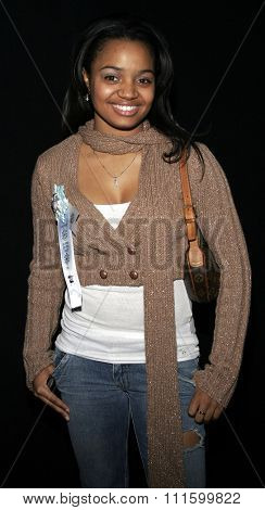 11/27/2005 - Hollywood - Kyla Pratt attends the 2005 Hollywood Christmas Parade at the Hollywood Roosevelt Hotel in Hollywood, California, United States.