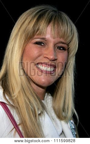 HOLLYWOOD, CALIFORNIA. November 27, 2005. Paige Hemmis attends the 2005 Hollywood Christmas Parade at the Hollywood Roosevelt Hotel in Hollywood, California United States.