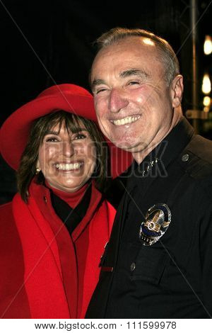 William Bratton at the 73rd Annual Hollywood Christmas Parade held at the Hollywood Roosevelt Hotel in Hollywood, USA on November 28, 2004.