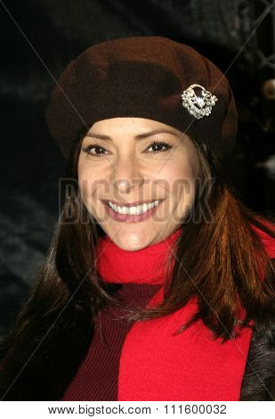 Constance Marie at the 73rd Annual Hollywood Christmas Parade 2004 held at the Roosevelt Hotel in Hollywood, USA on November 28, 2004.
