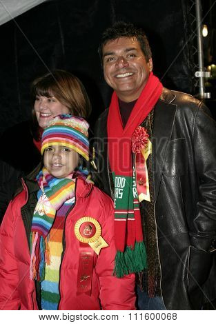 George Lopez at the 73rd Annual Hollywood Christmas Parade 2004 held at the Roosevelt Hotel in Hollywood, USA on November 28, 2004.