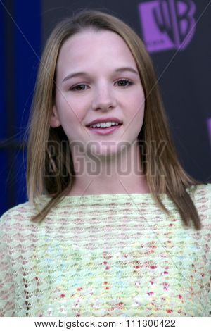 Kay Panabaker at The WB Network's 2004 All Star Party- Red Carpet & Party at The Lounge At Astra West in Los Angeles, USA on July 14, 2004.