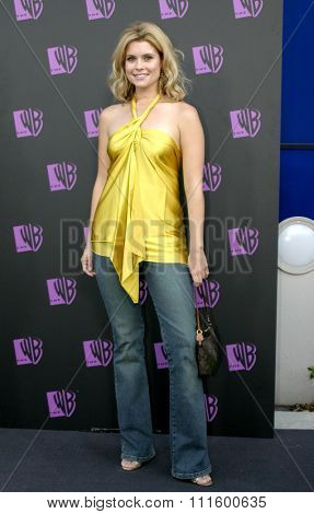 JoAnna Garcia at The WB Network's 2004 All Star Party- Red Carpet & Party at The Lounge At Astra West in Los Angeles, USA on July 14, 2004.