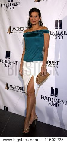 HOLLYWOOD, CALIFORNIA - June 11, 2005. Constance Marie attends at the 19th Annual Fulfillment Fund