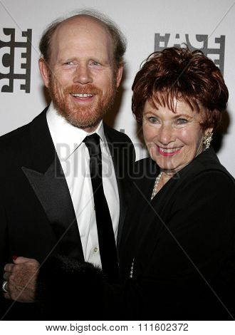 02/19/2006 - Beverly Hills - Ron Howard and Marion Ross attend the 56th Annual ACE Eddie Awards held at the Beverly Hilton Hotel in Beverly Hills, California, United States.