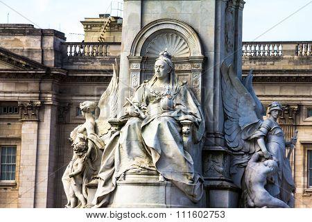 Imperial Memorial To Queen Victoria