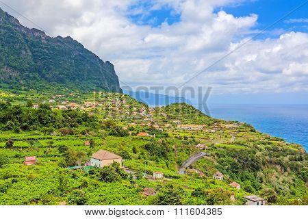 View Over Arco De Sao Jorge, Madeira