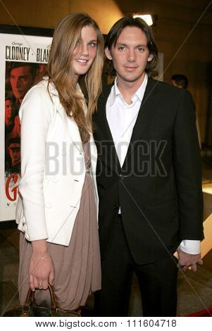 HOLLYWOOD, CALIFORNIA. December 4, 2006. Lukas Haas attends the Los Angeles Premiere of
