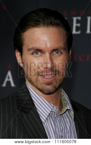 HOLLYWOOD, CALIFORNIA. December 4, 2005. Brody Hutzler attends the Premiere of Memoirs of a Geisha at the Kodak Theater in Hollywood, California United States.