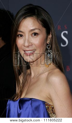 Michelle Yeoh attends The DreamWorks SKG and Sony Pictures Premiere of