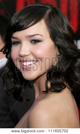 BUENA PARK, CALIFORNIA. October 8, 2006. Arielle Kebbel at the World Premiere of