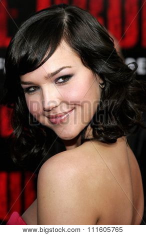 10/08/2006 - Buena Park - Arielle Kebbel attends the World Premiere of