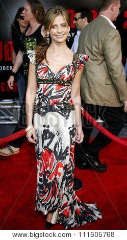 10/08/2006 - Buena Park - Sarah Michelle Gellar attends the World Premiere of