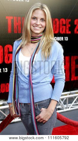 10/08/2006 - Buena Park - Nikki Griffin attends the World Premiere of