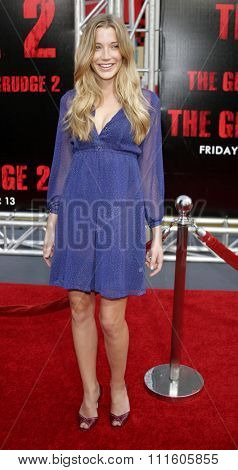 10/08/2006 - Buena Park - Sarah Roemer attends the World Premiere of