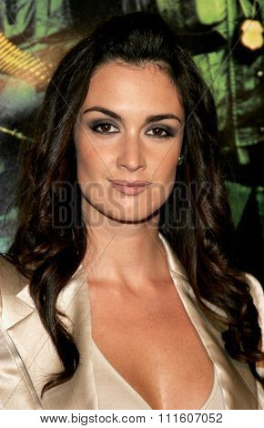 October 11, 2005 - Hollywood - Paz Vega at the New Line Cinema's