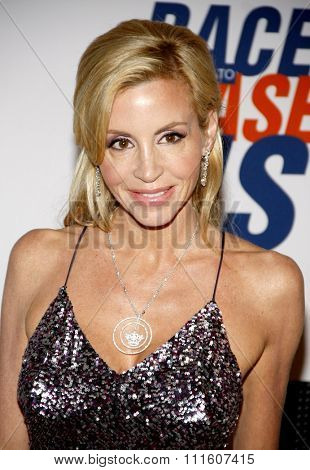 Camille Grammer at the 19th Annual Race To Erase MS held at the Hyatt Regency Century Plaza in Los Angeles, California, United States on May 18, 2012.