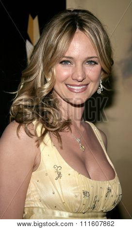 BEVERLY HILLS. CALIFORNIA. April 28, 2005.Sharon Case attends The 9th Annual PRISM Awards The Beverly Hills Hotel in Beverly Hills, California, United States.