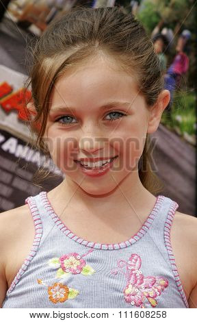 HOLLYWOOD, CALIFORNIA. July 30, 2006. Ryan Newman attends the World Premiere of