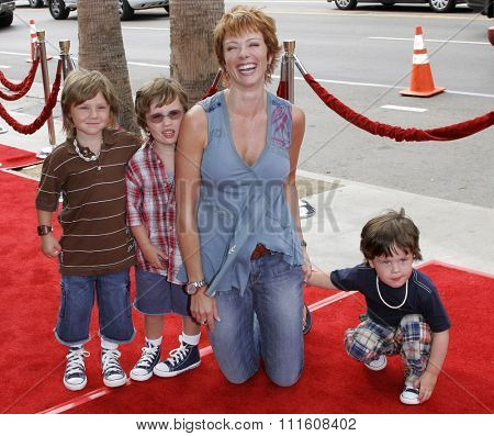 HOLLYWOOD, CALIFORNIA. July 30, 2006. Lauren Holly at the World Premiere of