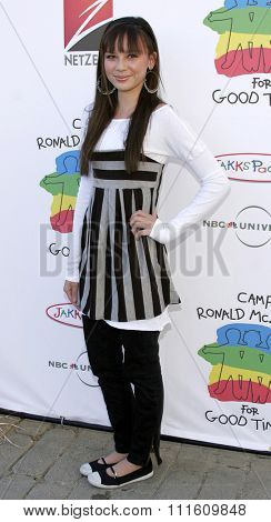 Malese Jow at the Camp Ronald McDonald 14th Annual Halloween Carnival held at the Universal Studios Back Lot in Hollywood, CA on 10/22/06.