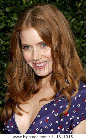 Amy Adams at the Los Angeles premiere of 'The Producers' held at the Westfield Century City in Century City, USA on December 12, 2005.