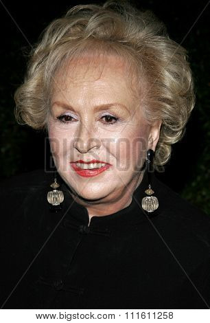 Doris Roberts at the Los Angeles premiere of 'The Producers' held at the Westfield Century City in Century City, USA on December 12, 2005.
