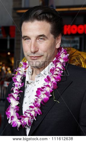 William Baldwin attends the World Premiere of