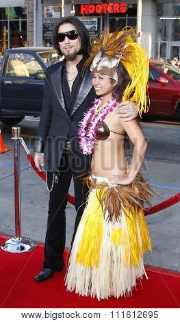 April 10, 2008. Dave Navarro at the World Premiere of