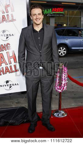 April 10, 2008. Jason Segel at the World Premiere of