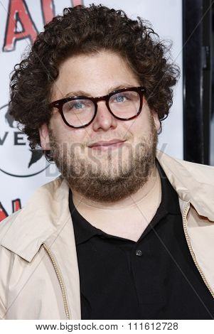 April 10, 2008. Jonah Hill at the World Premiere of