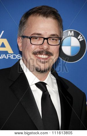 Vince Gilligan at the 66th Annual Directors Guild Of America Awards held at the Hyatt Regency Century Plaza in Los Angeles, USA on January 25, 2014.