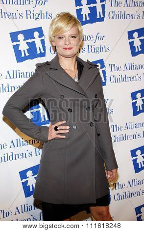 Martha Pimpton at the Alliance for Children's Rights Dinner Honoring Kevin Reilly held at the Beverly Hilton Hotel in Beverly Hills, USA on March 1, 2012.