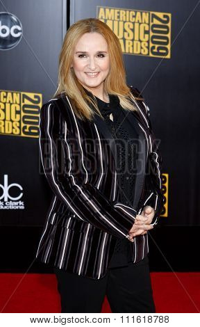 Melissa Etheridge at the 2009 American Music Awards at Nokia Theatre L.A. Live in Los Angeles, USA on November 22, 2009.