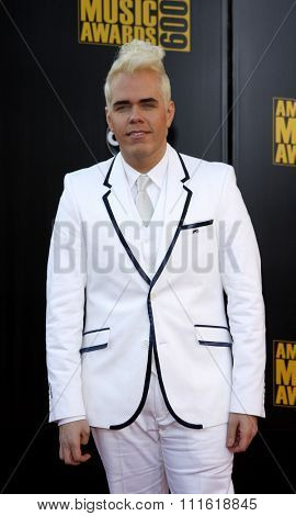 Perez Hilton at the 2009 American Music Awards at Nokia Theatre L.A. Live in Los Angeles, USA on November 22, 2009.