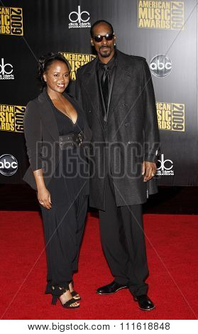 Snoop Dogg at the 2009 American Music Awards at Nokia Theatre L.A. Live in Los Angeles, USA on November 22, 2009.