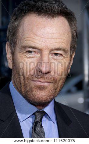 Bryan Cranston at the Los Angeles premiere of 'Argo' held at the AMPAS Samuel Goldwyn Theater in Beverly Hills, USA on October 4, 2012.