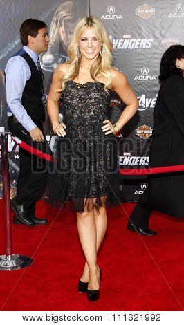 Chelsie Hightower at the Los Angeles premiere of