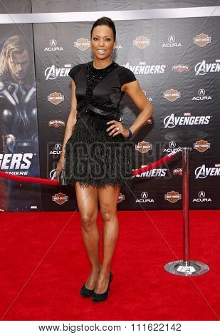 Aisha Tyler at the Los Angeles premiere of