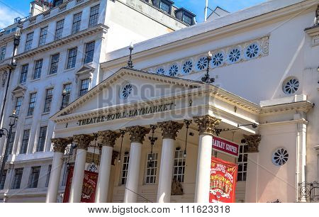 The Haymarket Royal Theater In Central London, England.