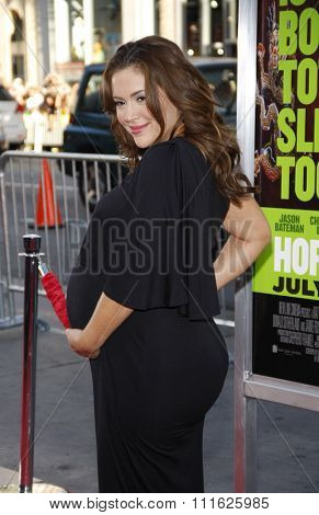 HOLLYWOOD, CALIFORNIA - June 30, 2011. Alyssa Milano at the Los Angeles premiere of