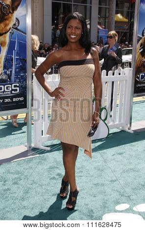 Omarosa at the Los Angeles Premiere of