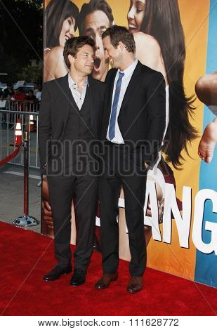 WESTWOOD, CALIFORNIA - August 1, 2011. Jason Bateman and Ryan Reynolds at the Los Angeles premiere of