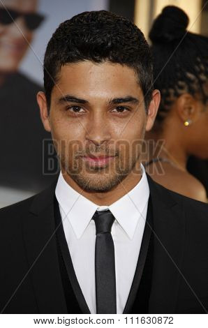 HOLLYWOOD, CALIFORNIA - June 27, 2011. Wilmer Valderrama at the World premiere of