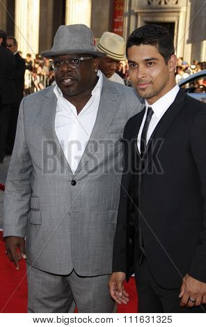 Cedric the Entertainer and Wilmer Valderrama at the Los Angeles Premiere of