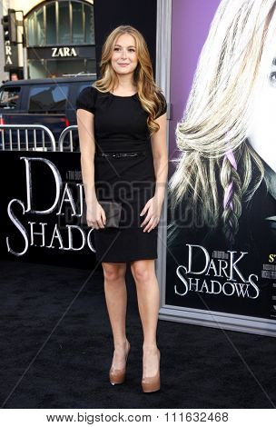 Alexa Vega at the Los Angeles premiere of 'Dark Shadows' held at the Grauman's Chinese Theater in Hollywood, USA on May 7, 2012.