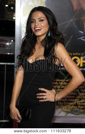 HOLLYWOOD, CALIFORNIA - February 1, 2010. Jenna Dewan at the World premiere of