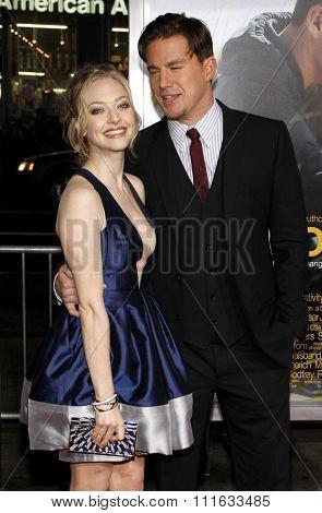 Amanda Seyfried and Channing Tatum at the World Premiere of